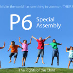 The Primary 6 special assembly takes place on Friday, 30th October 2015.  Parents and family members are invited to join us for this special event. The assembly starts at 09:15 sharp. Please arrive in plenty of time.