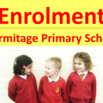 Please see below details of our forthcoming enrolment week for new Primary 1 entrants registering to start in August 2016.