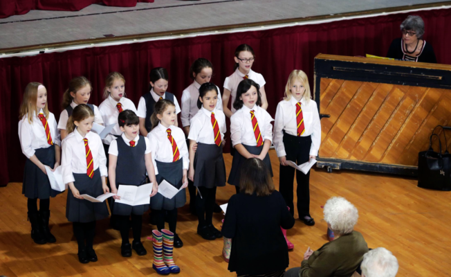 The Choir in action
